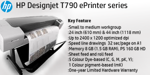PLOTTER HP DESIGNJETT T790 PRINTER